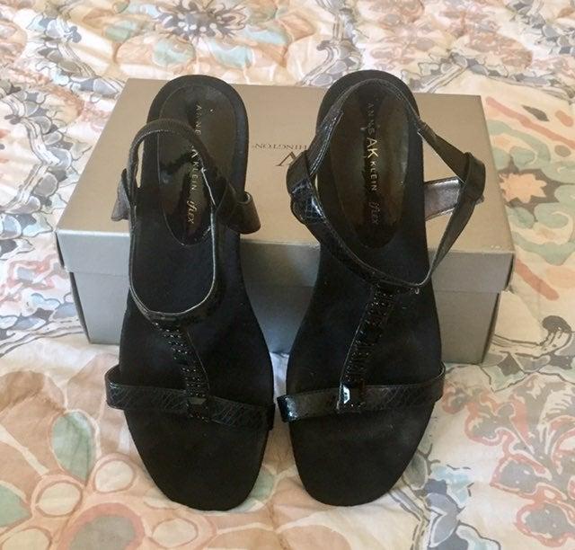 Anne Klein low heeled. sandals