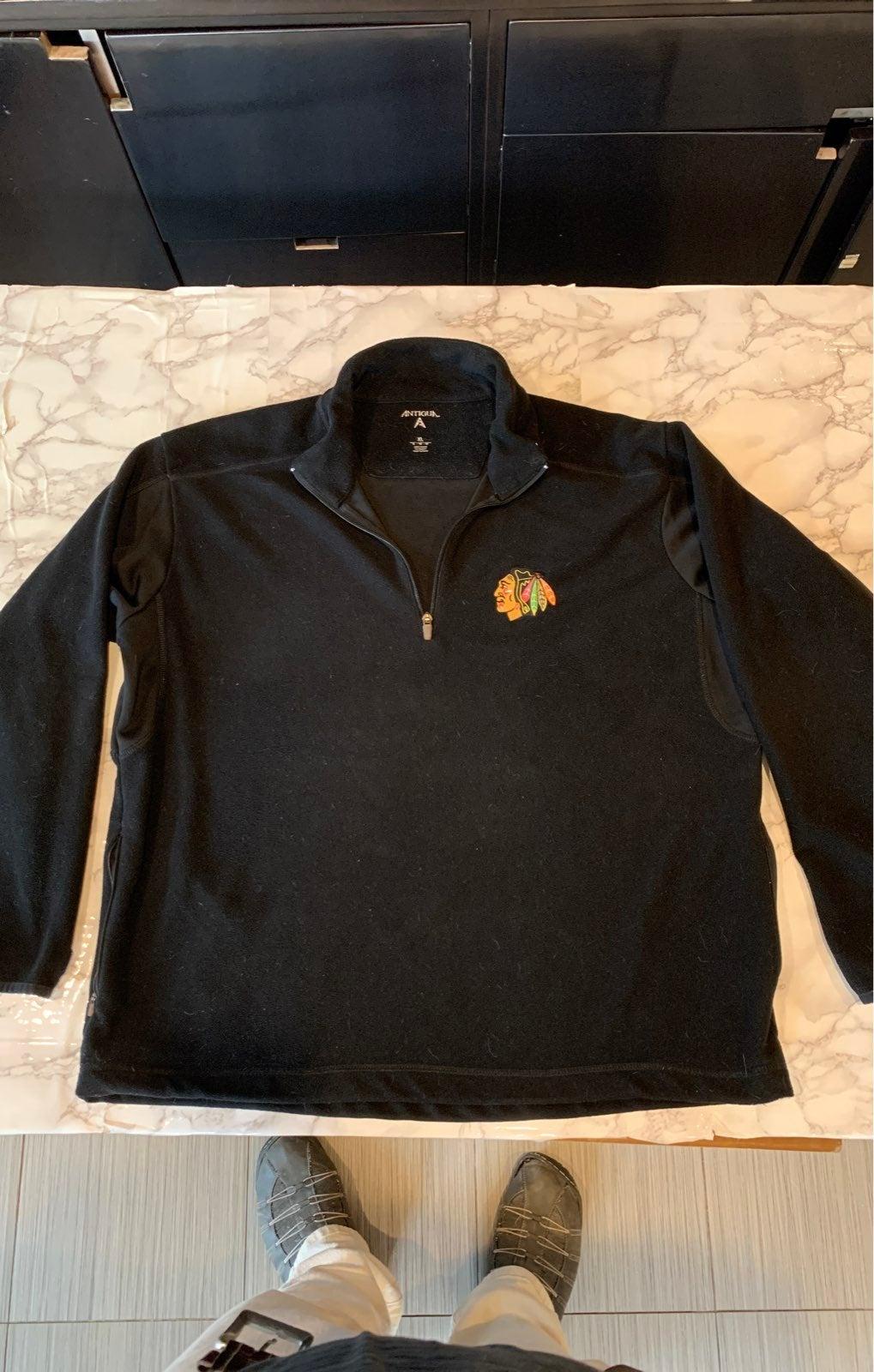 Chicago BlackHawks fleece 1/4 zip