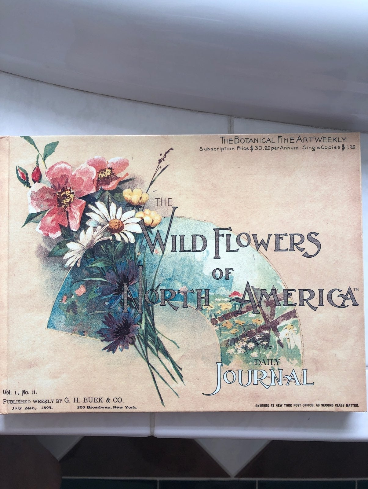The Wildflowers of North America Daily J