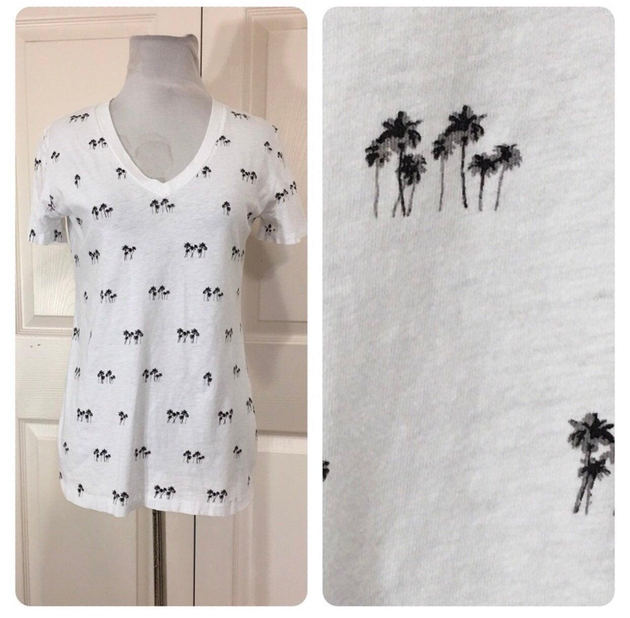 Rag & bone palm tree tee (S)