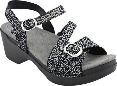 Dansko Sandi Sandals Black 39 8.5 9