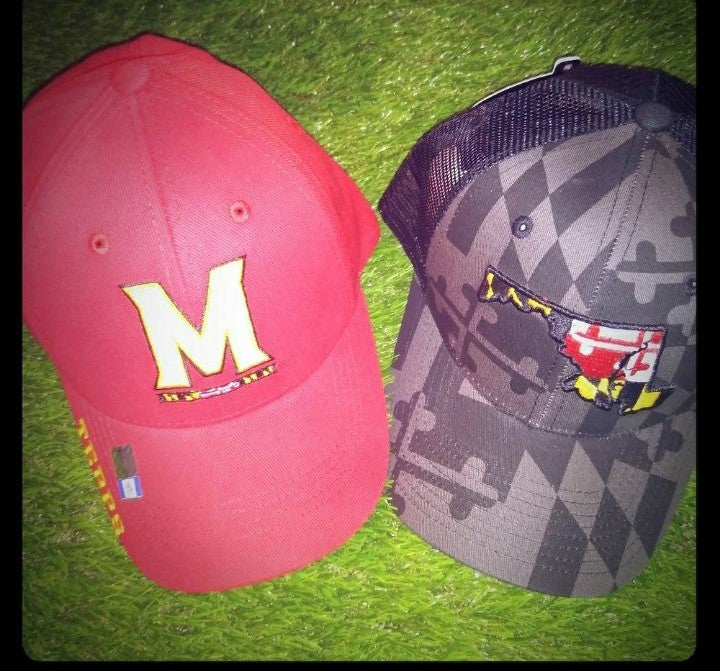 Maryland Terrapins 2 pack hat cap new