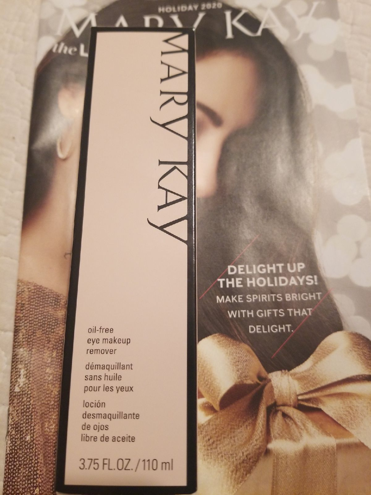 Mary Kay eye makeup remover