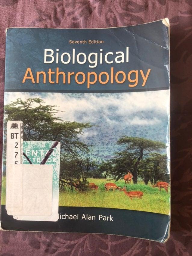 Biological Anthopology Textbook
