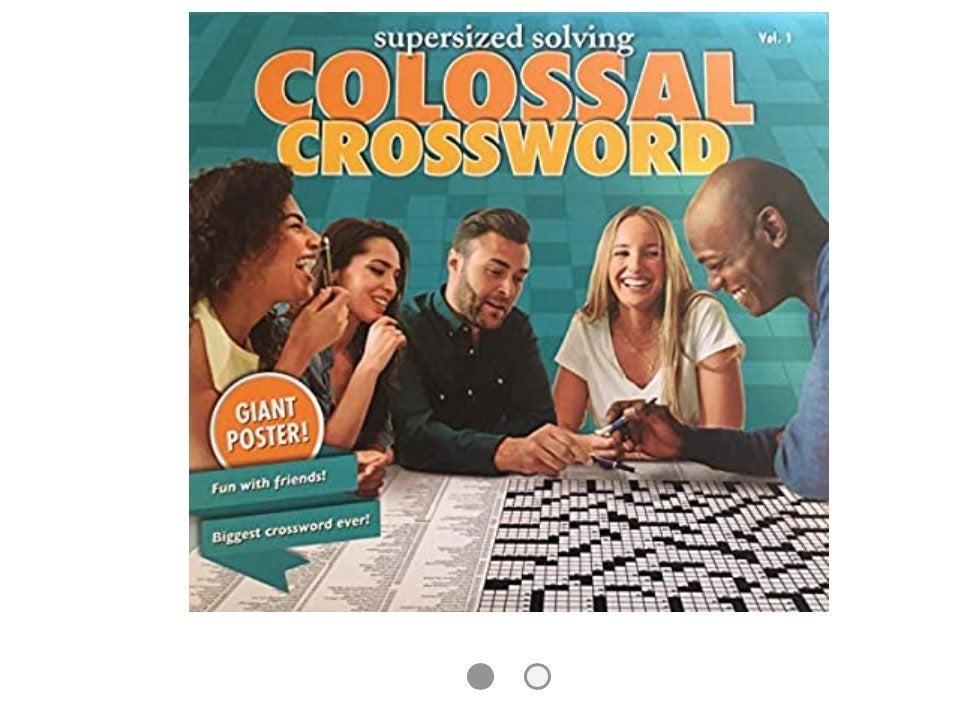 SupersizedSolvinColossal Crsswrd Puzzle