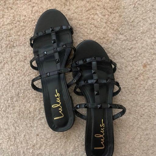 Lulus Studded Sandals
