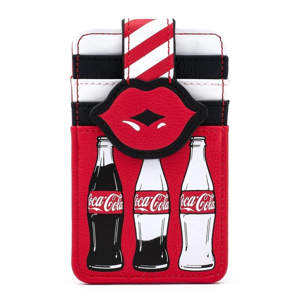 COCA-COLA BOTTLES AND LIPS CARD HOLDER