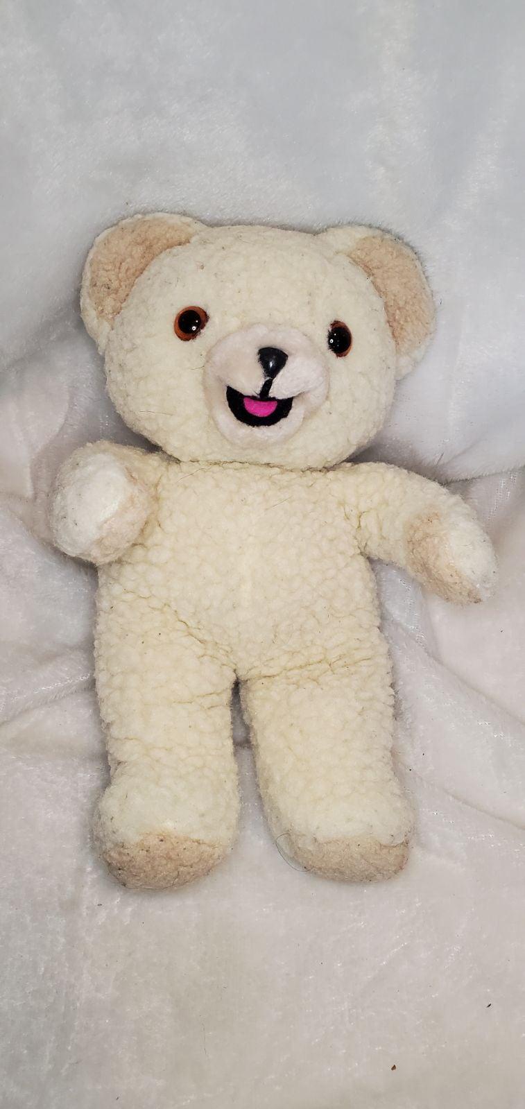 """Vintage 1986 Snuggle Bear Plush 10"""""""