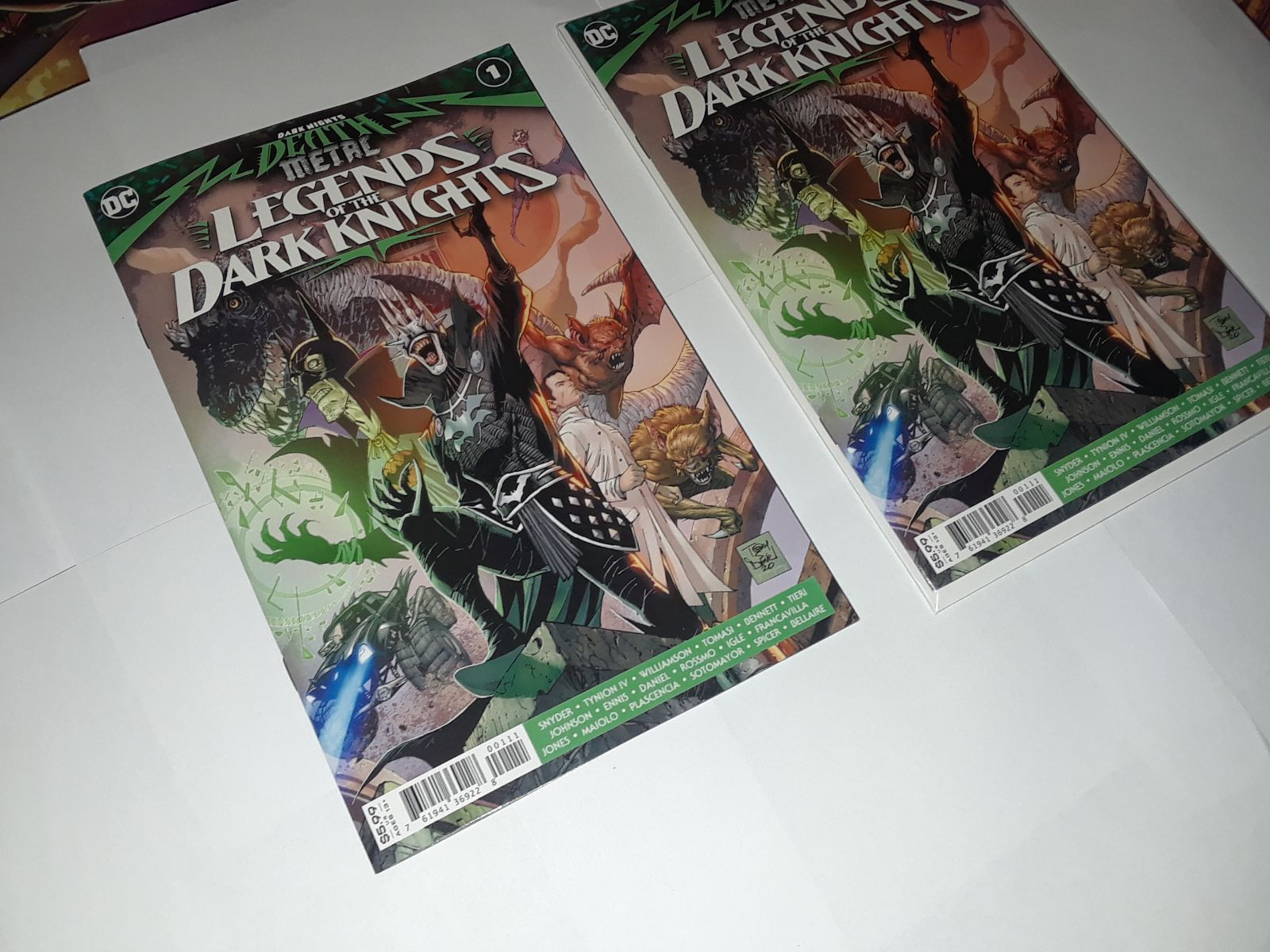 Legends of the Dark Knights Death Metal