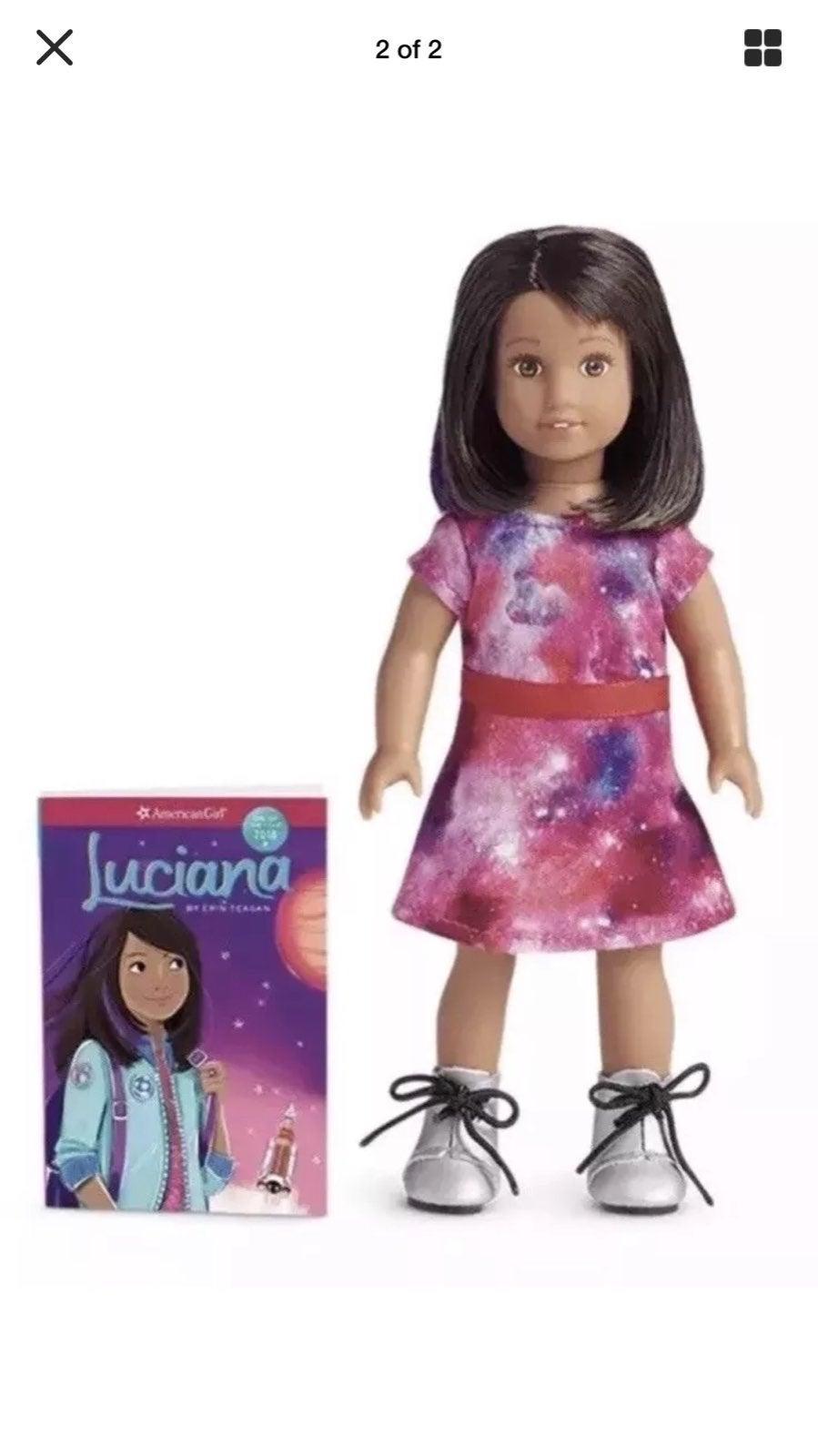 Luciana Vega Mini Doll & Book AG