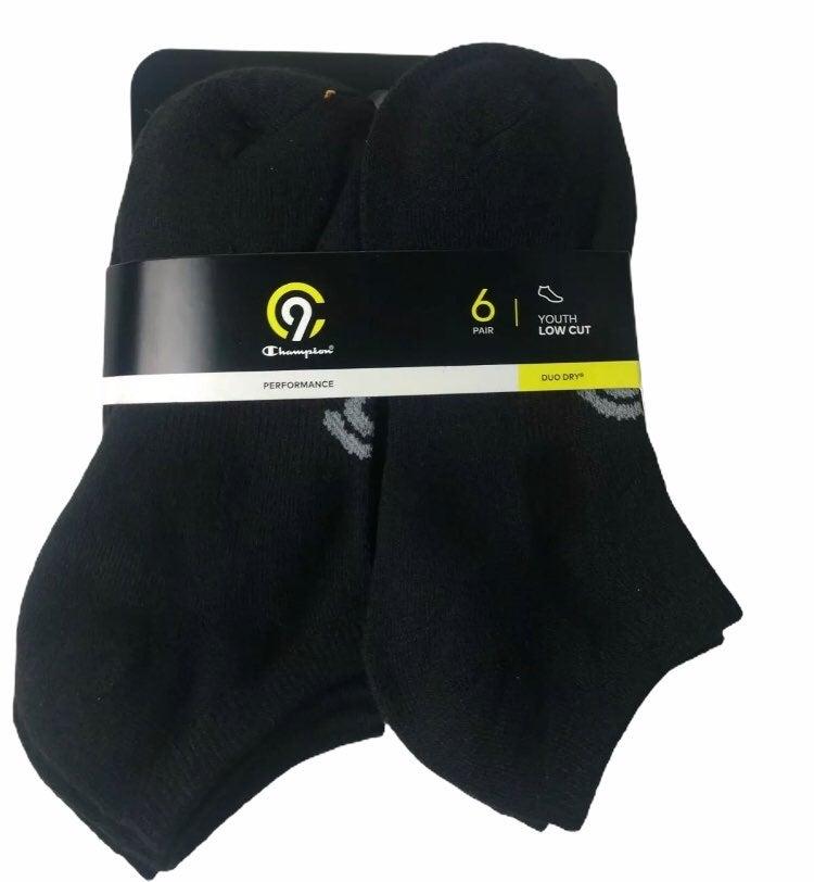 Youth Size 3 - 9 Large Champion Socks