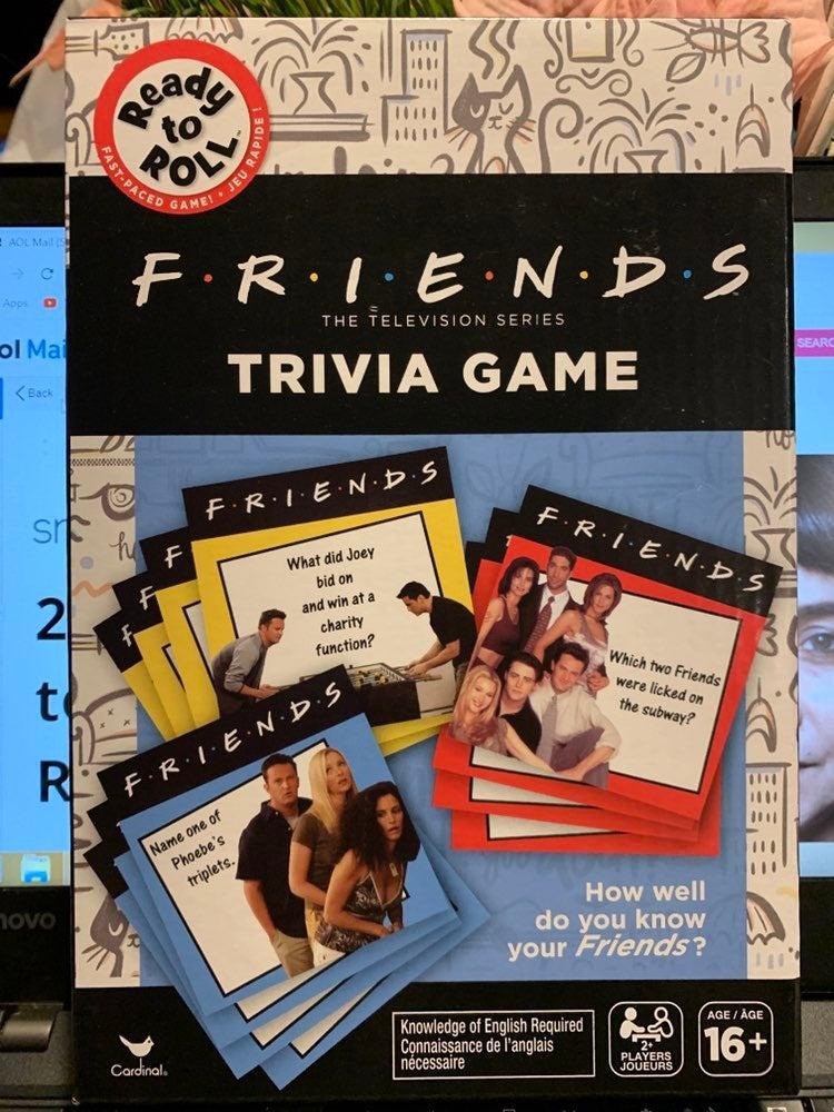 Friends trivia game, new, in box