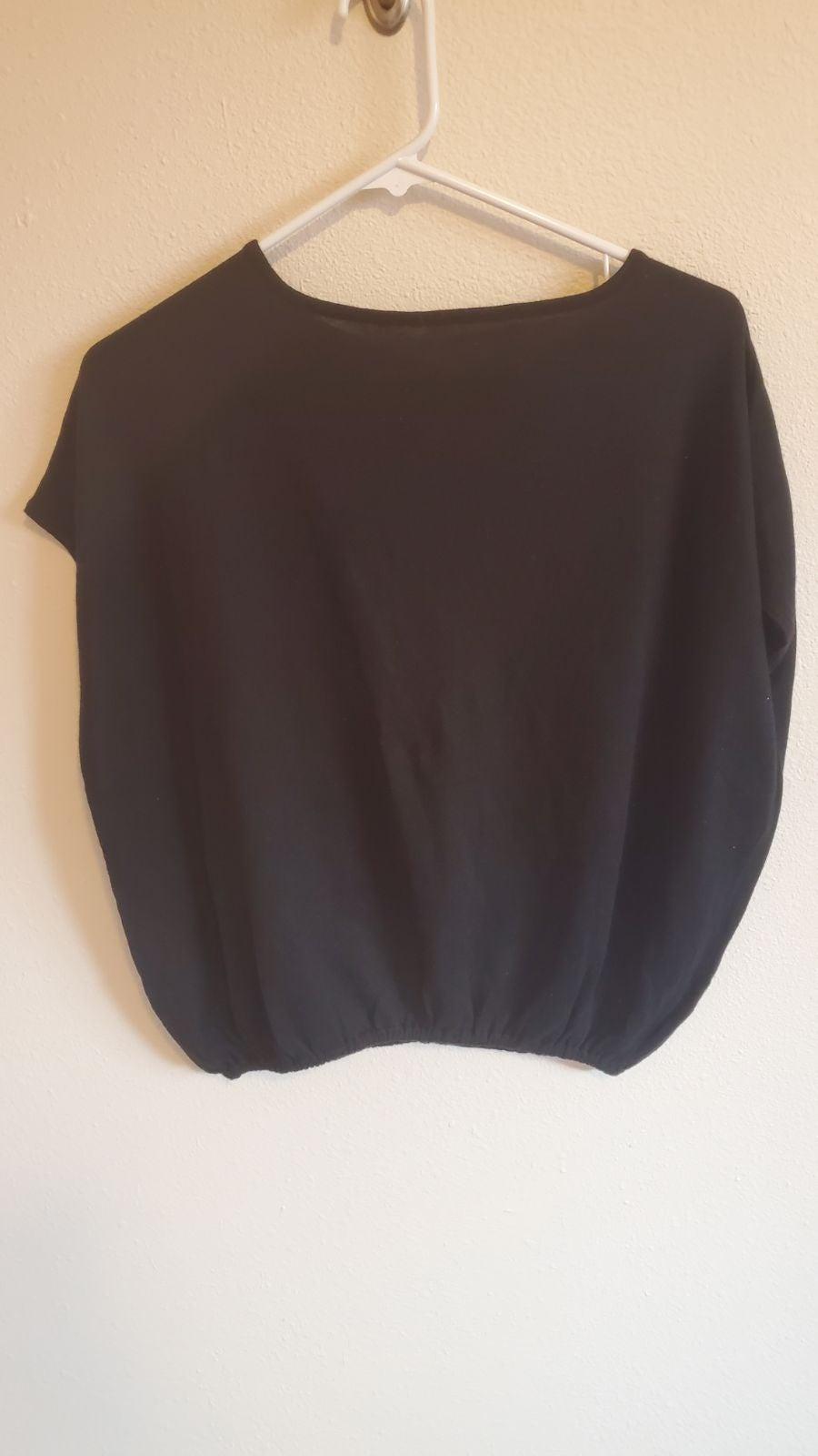 EUC Victoria Secret Black Sweater shirt