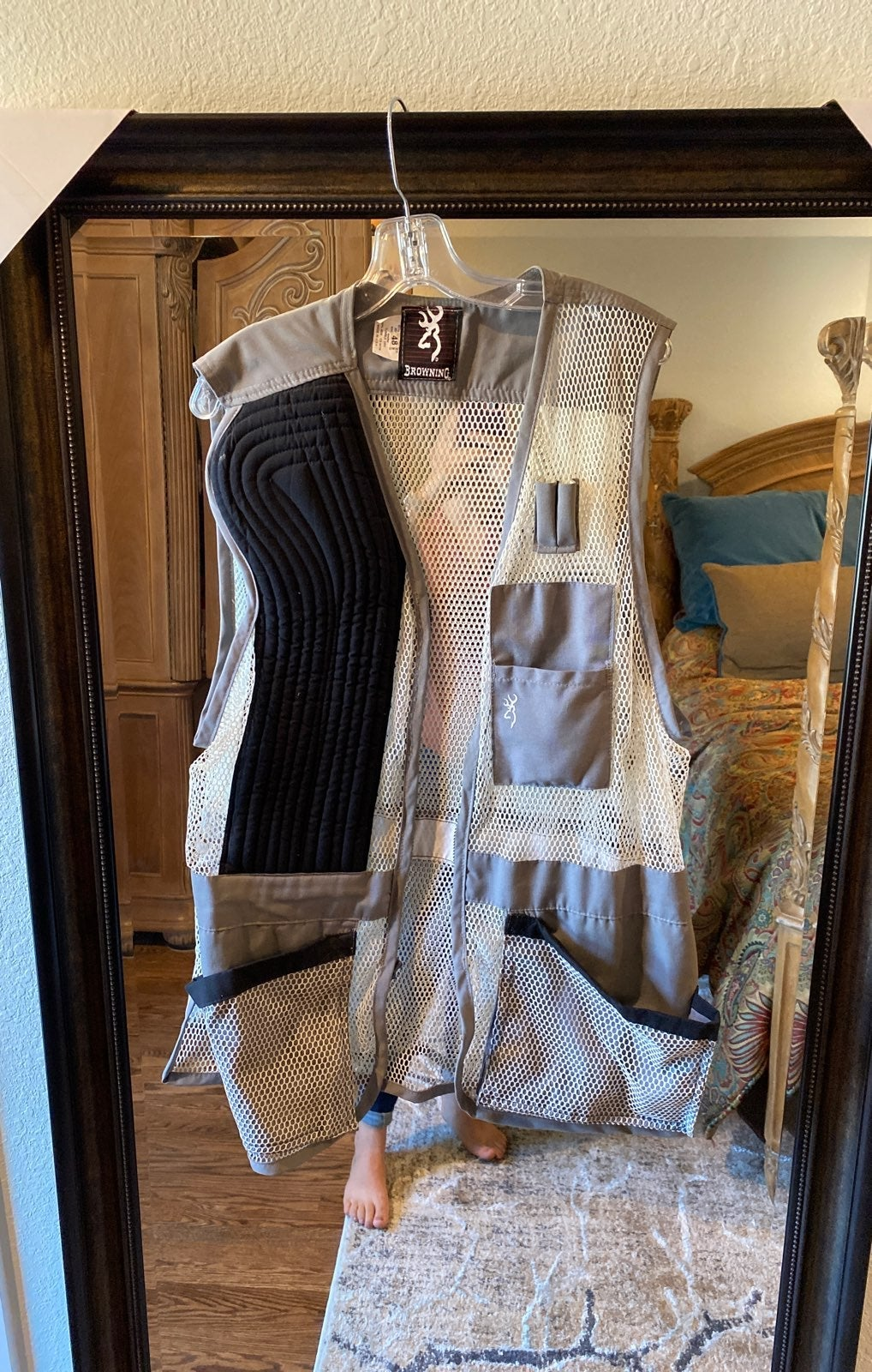 Browning trapper  shooting vest