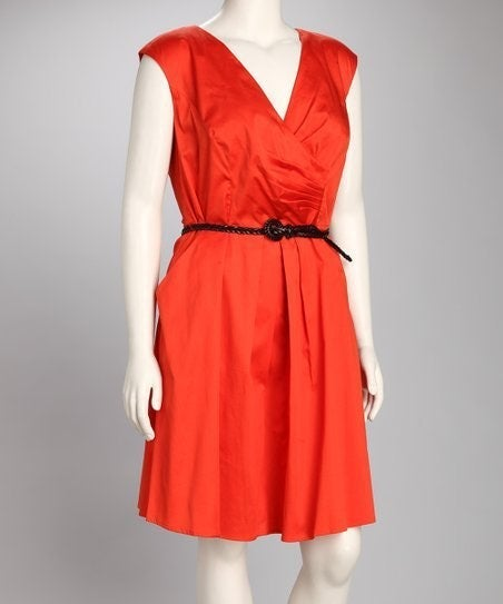 Jessica Simpson Orange Dress, 12