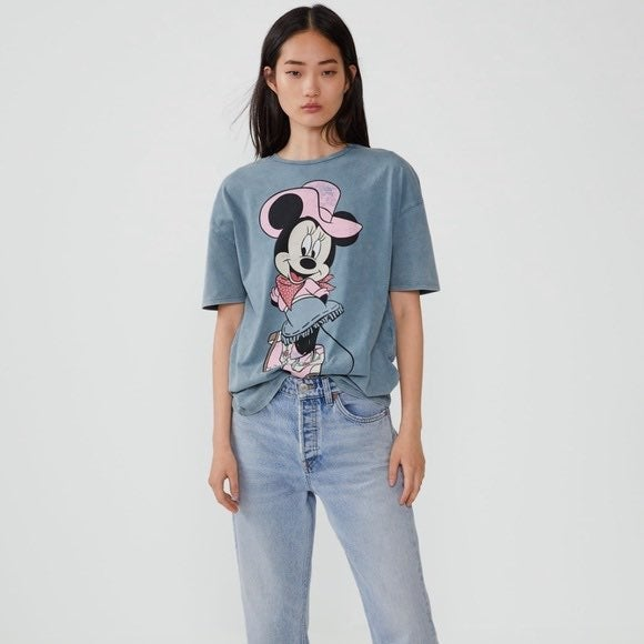 Zara Minnie Mouse Tee