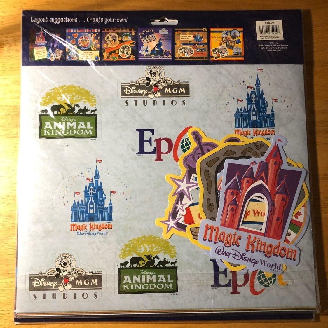 New Walt Disney World scrapbook kit