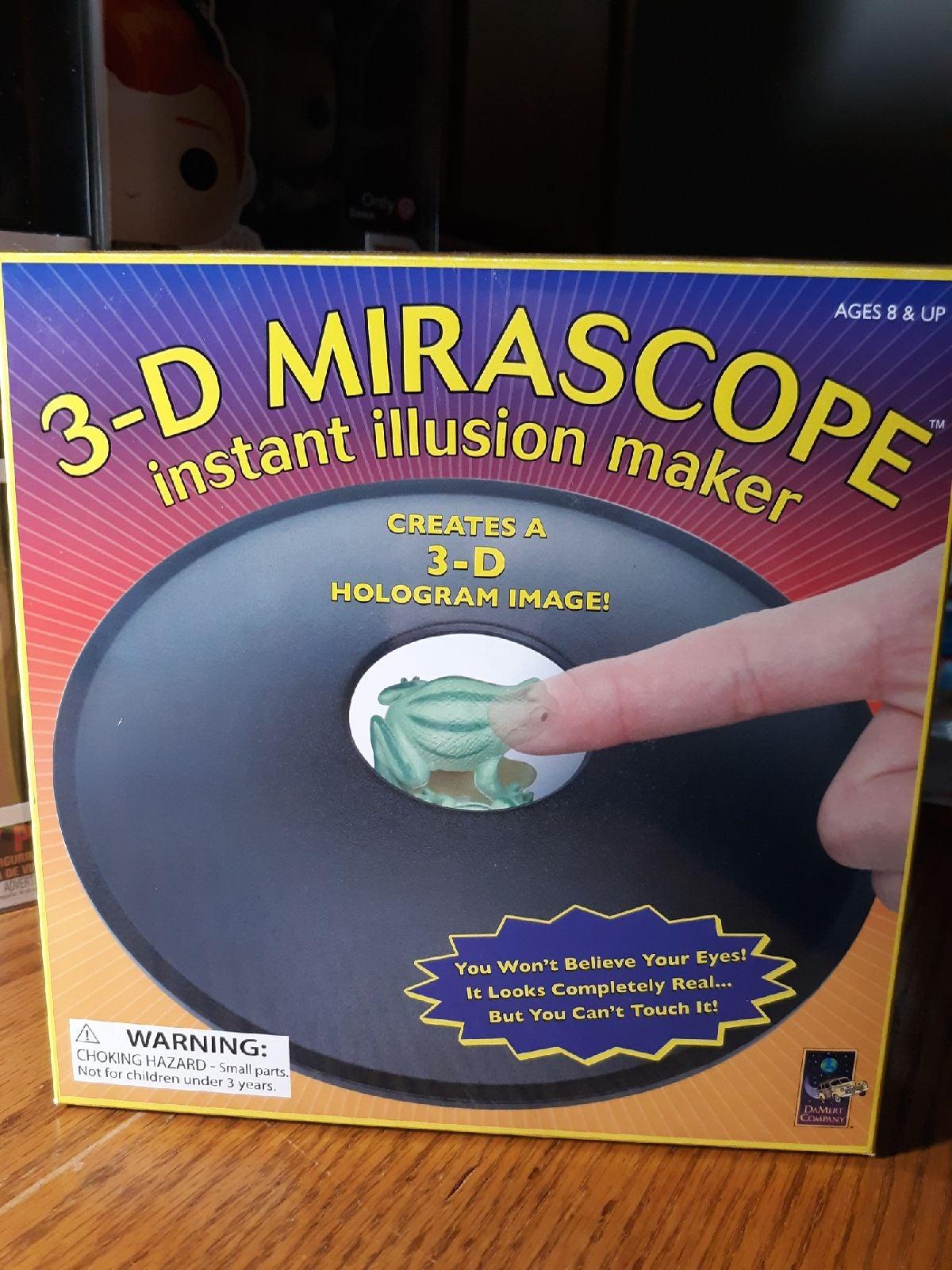 3-D Mirascope Insant Illusion Maker