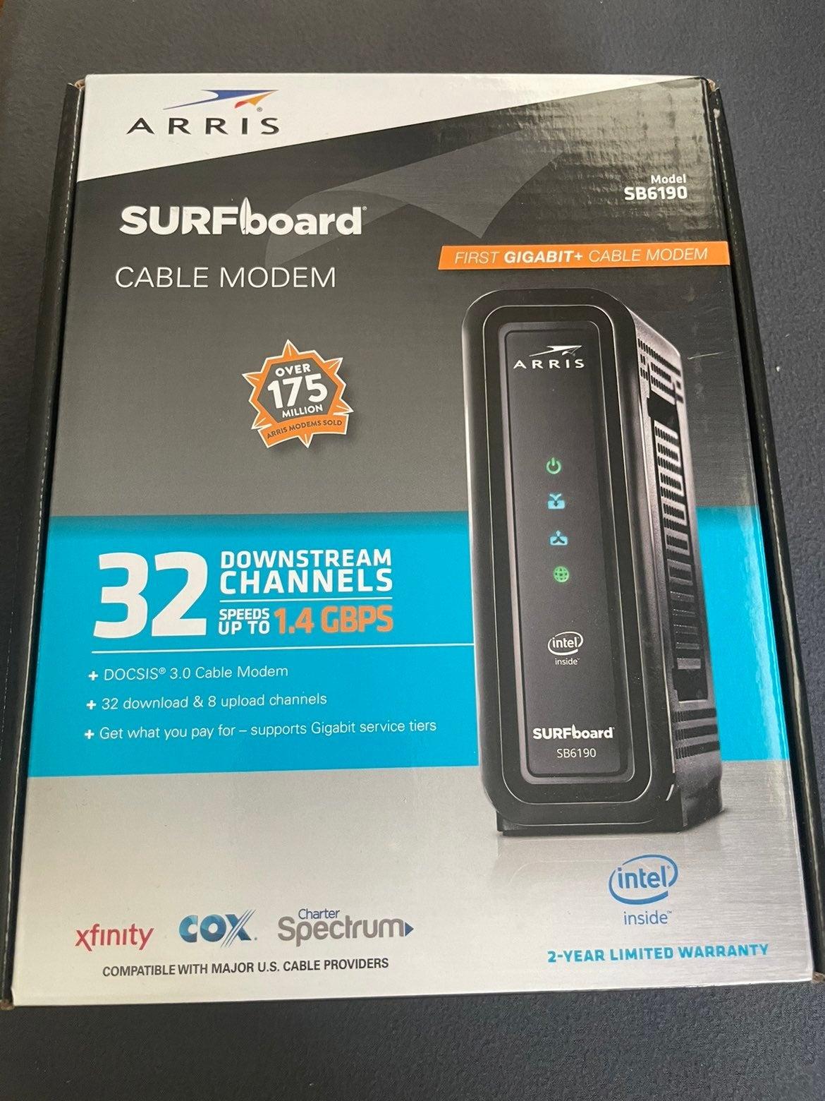 Arris Surfboard cable modem sb6190