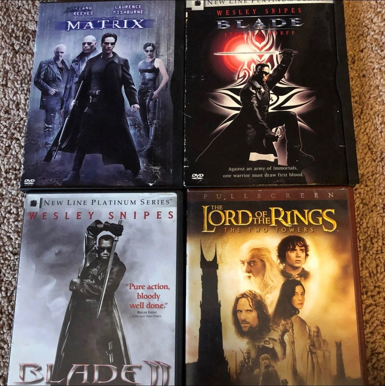 DVD Sci Fi Action 4 Pack bundle