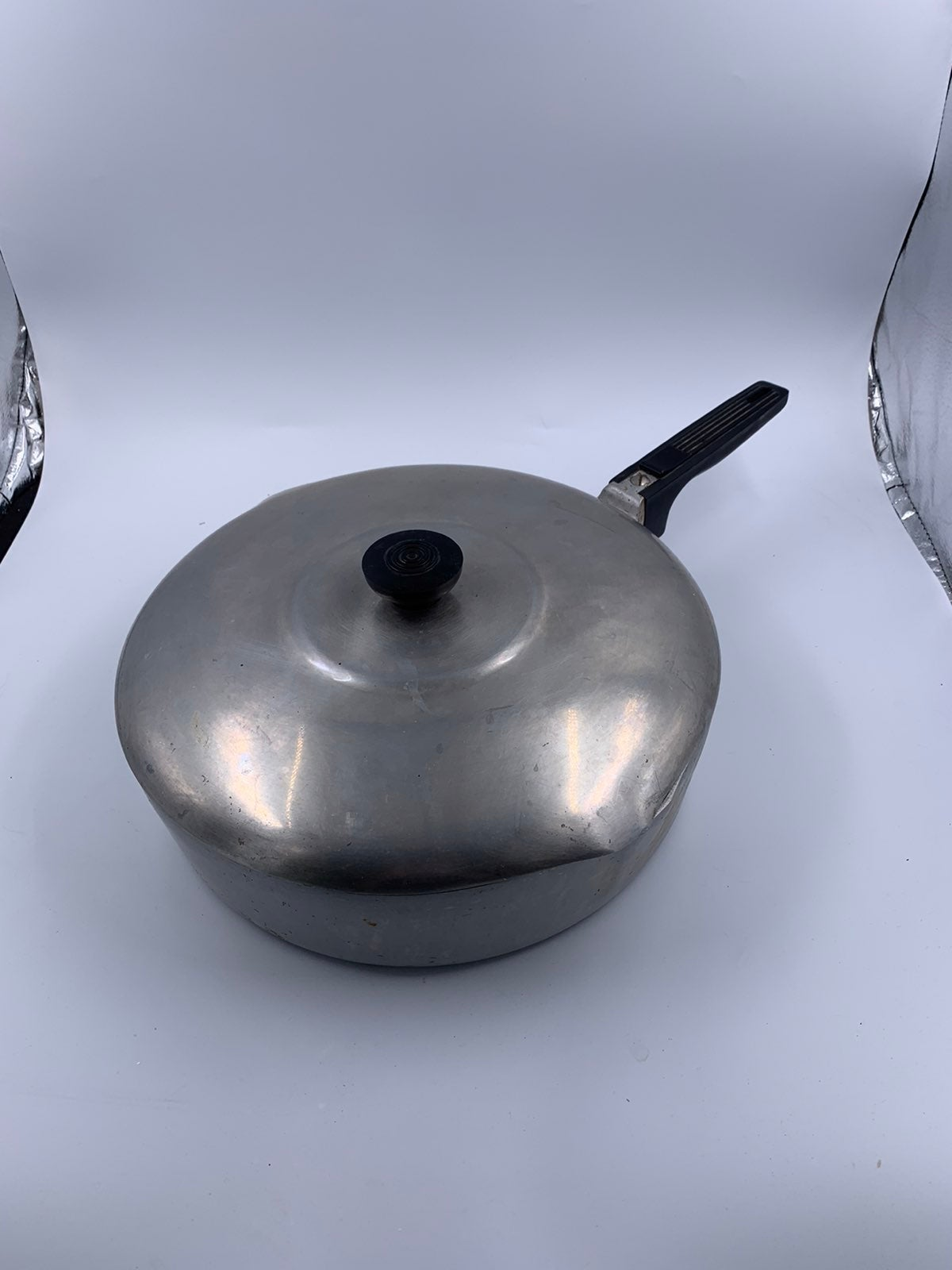 Vtg Aluminum Magnalite Fryer Skillet