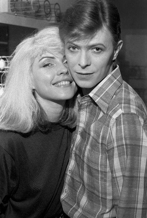 David Bowie Blondie D Harry 8x10 photo