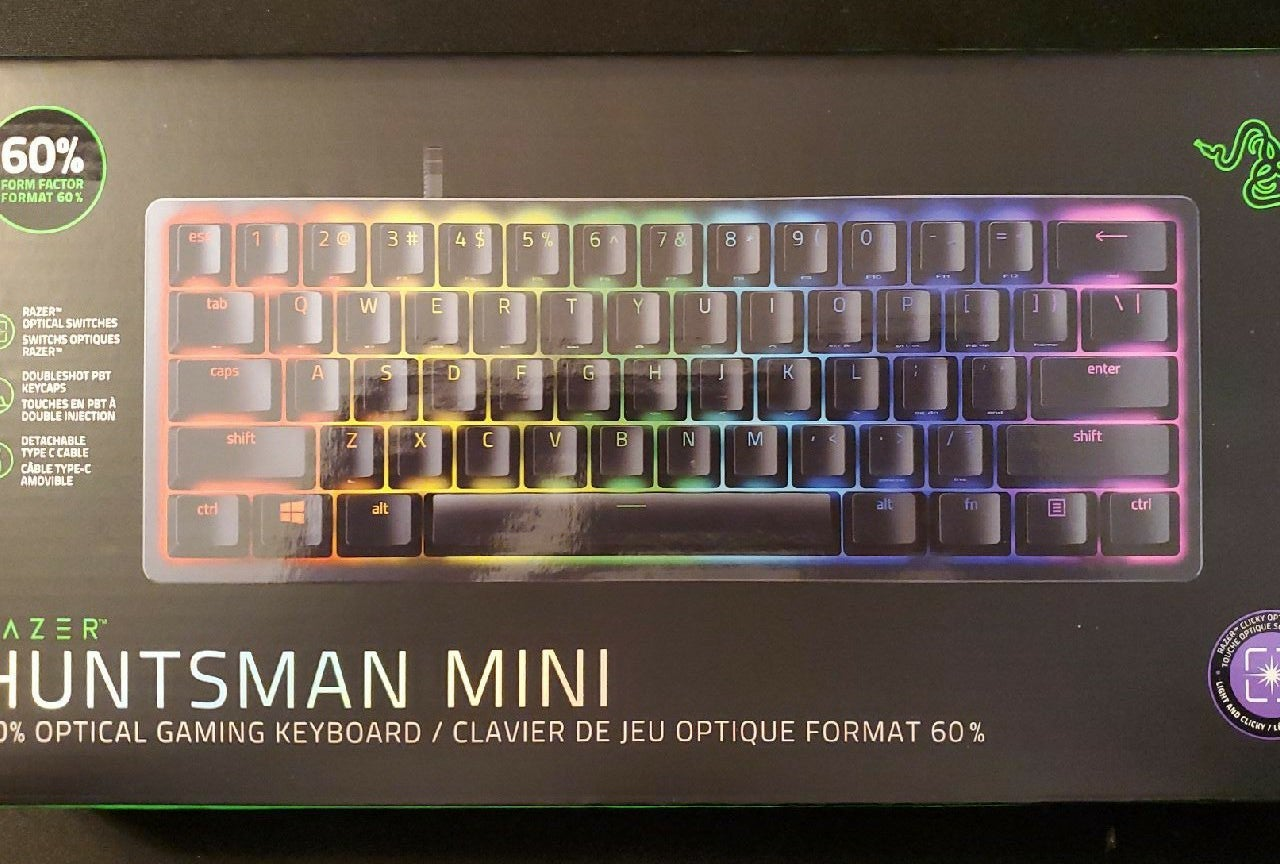 Razer Huntsman Mini RGB 60%