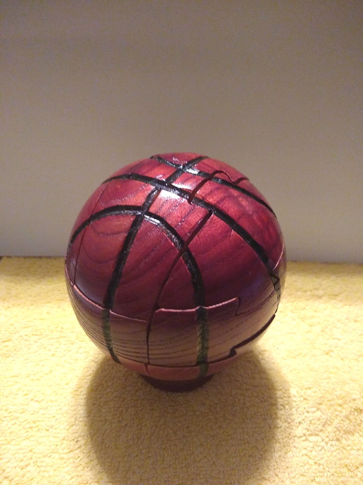 Wooden Puzzle - Basketball