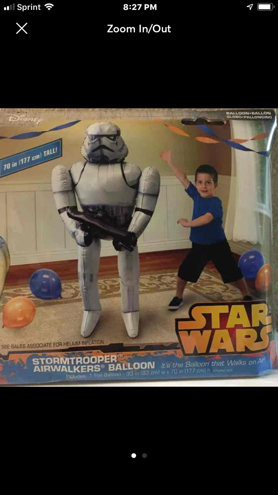 2 Star Wars balloon bundle