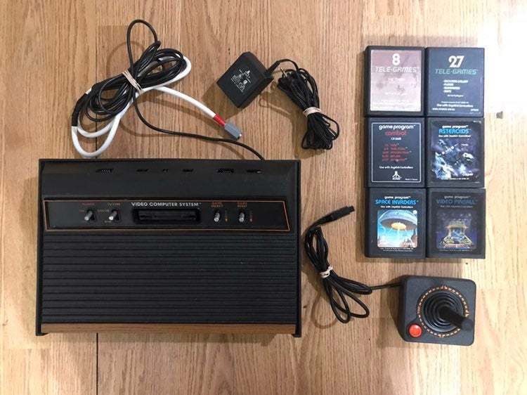 Atari 2600 Tested w/ Games