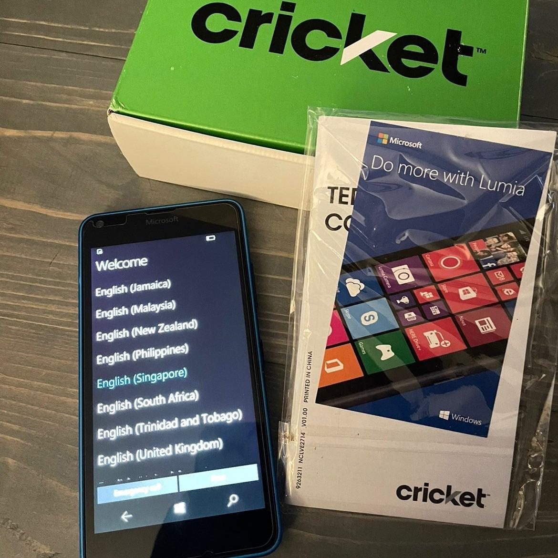 Microsoft Lumia 640 phone