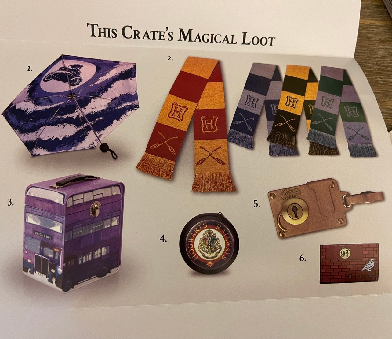 Harry potter loot crate