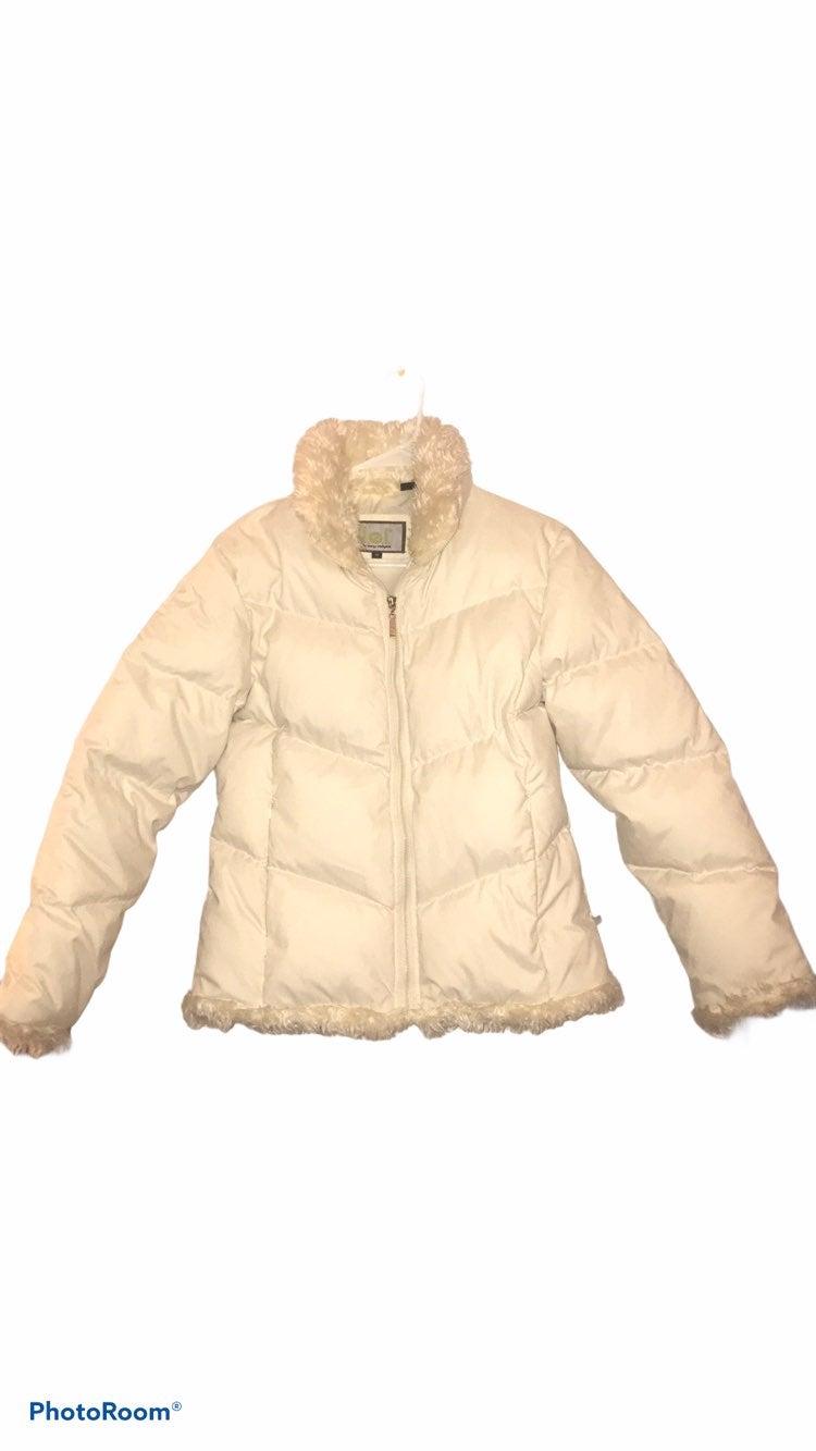 y2k fur lined puffer bomber jacket