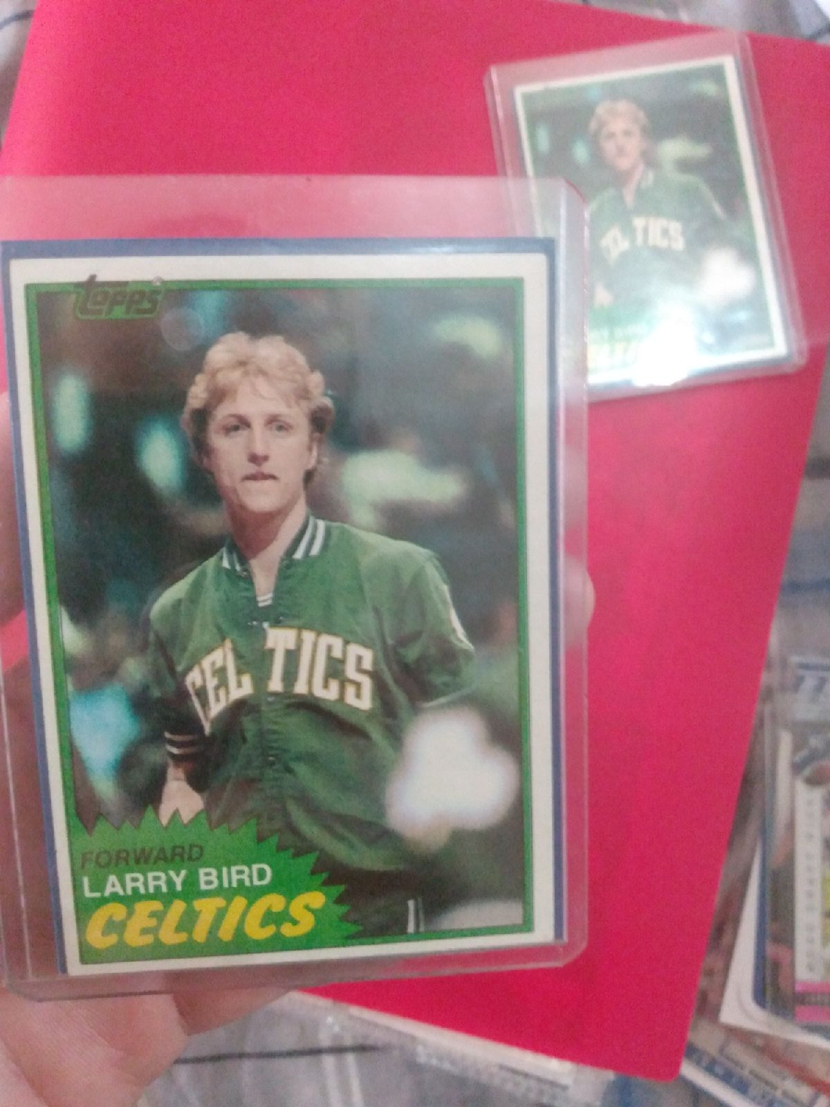 1981 Topps basketball Larry bird Rookie