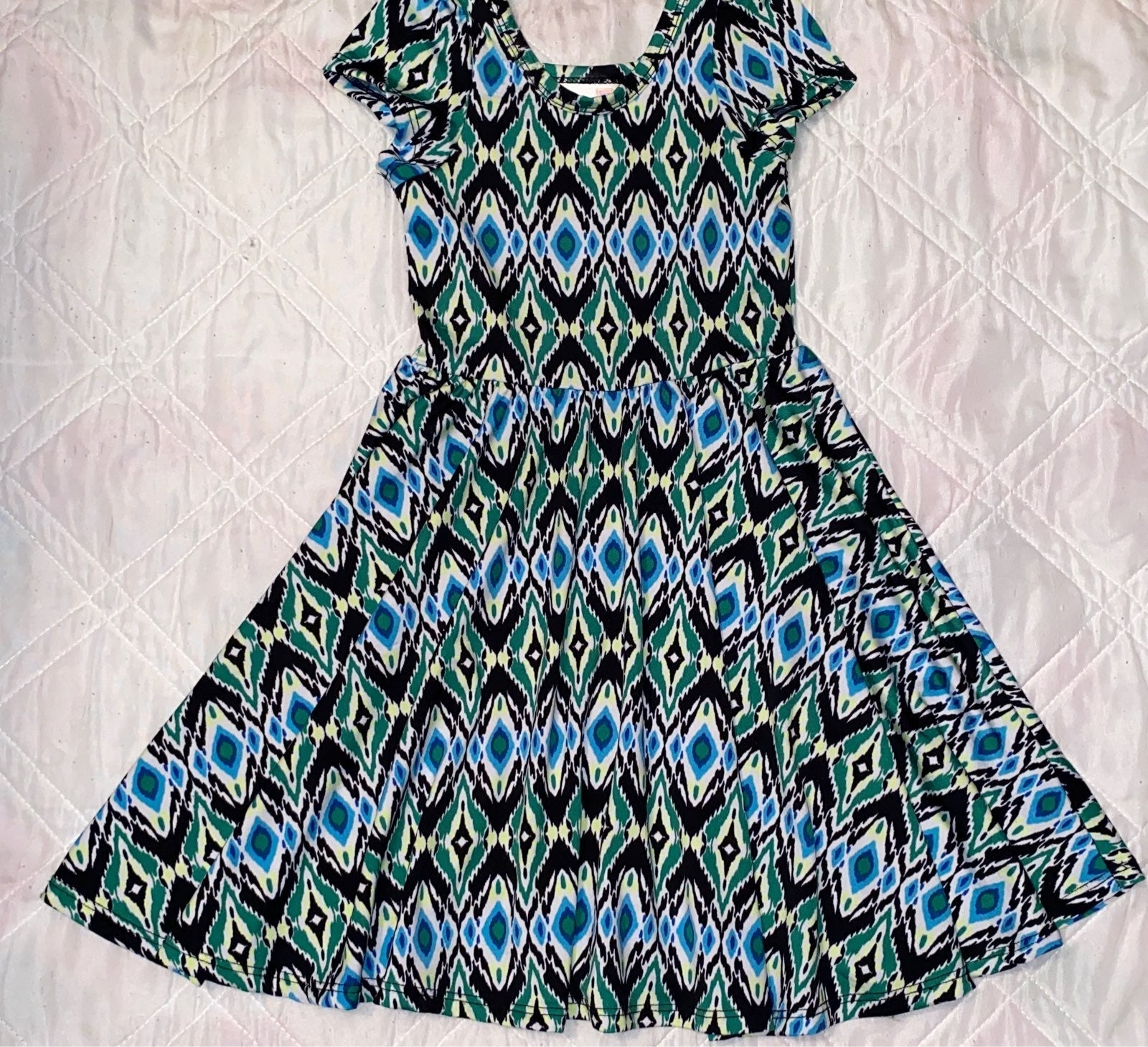 Girls 3T 4 Dot Dot Smile x LuLaRoe Dress