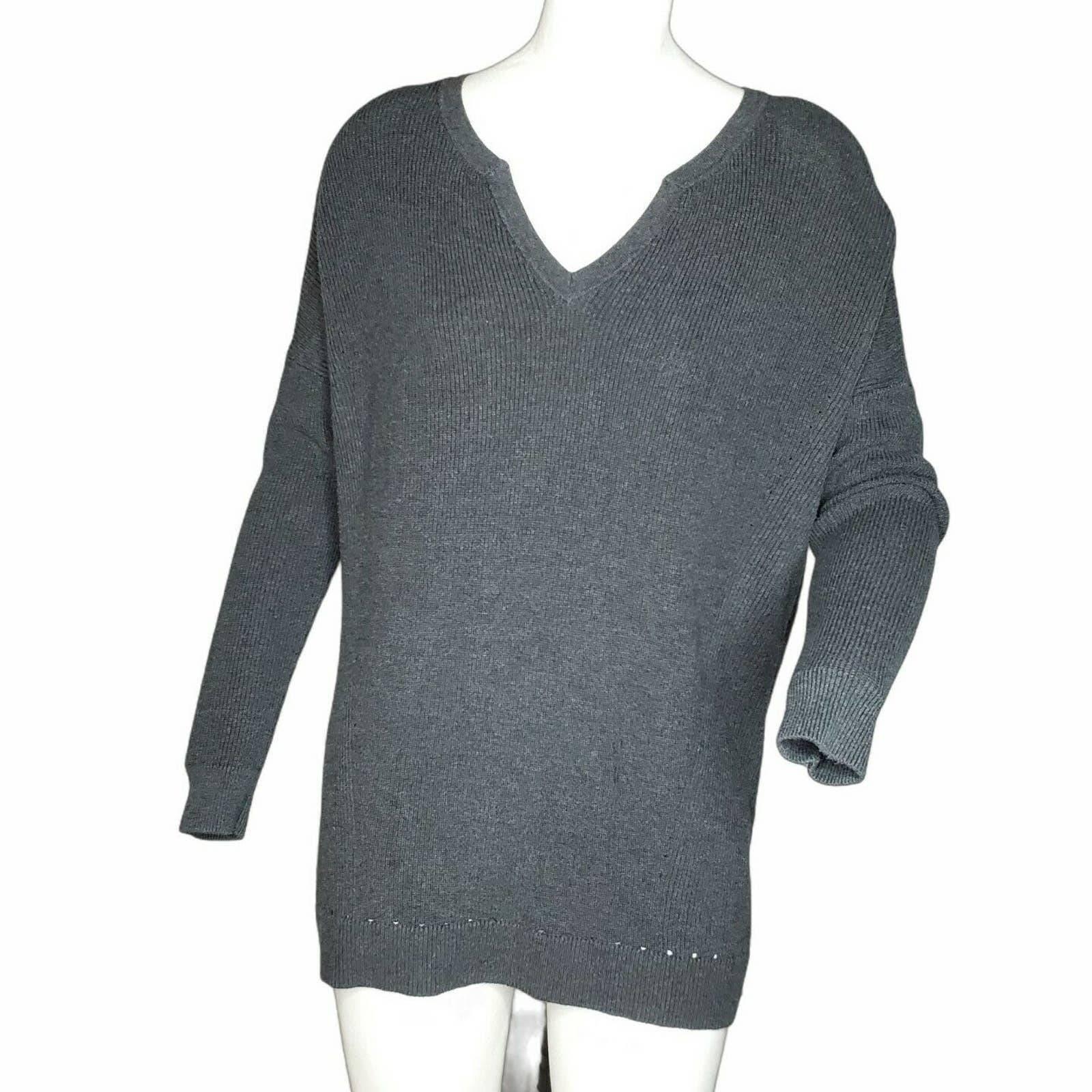 Cabi Oversized Pullover Sweater V-Neck