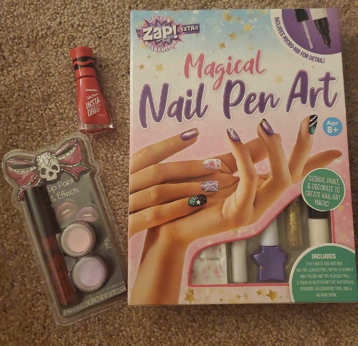 Zap! Magical Nail Pen Art & More Ages 8+