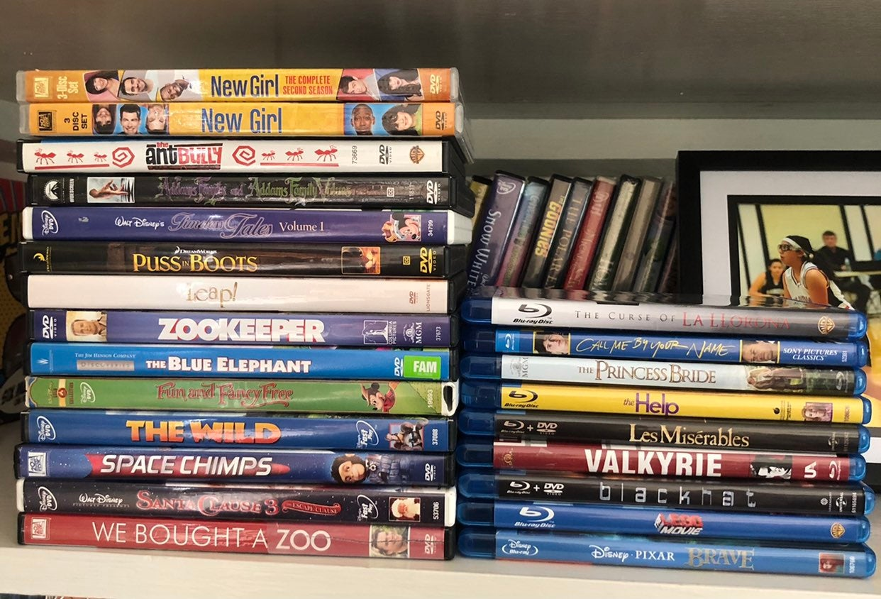 Lot of DVDs/BLURAY