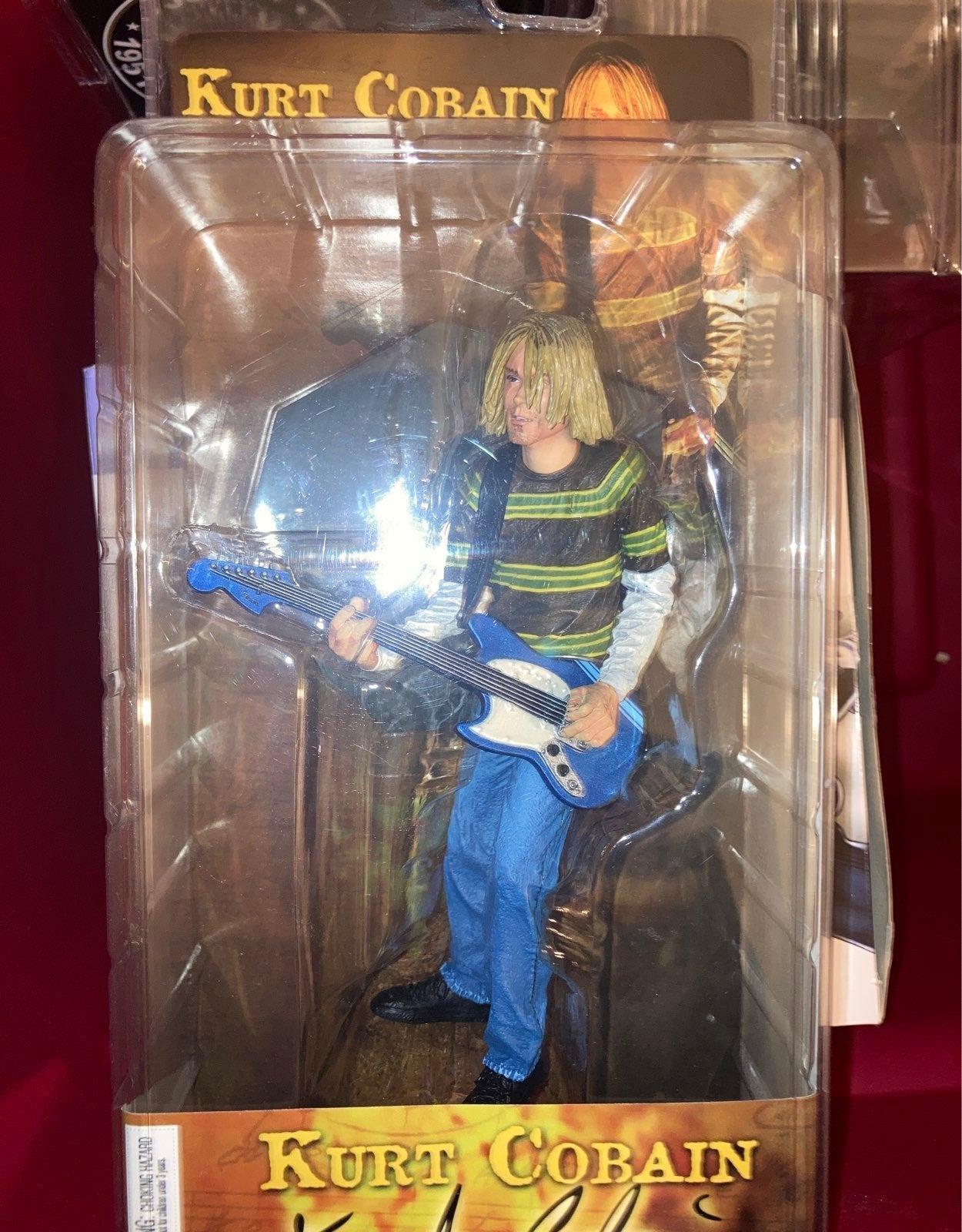 """Kurt Cobain NECA figure Teen Spirit 8"""""""