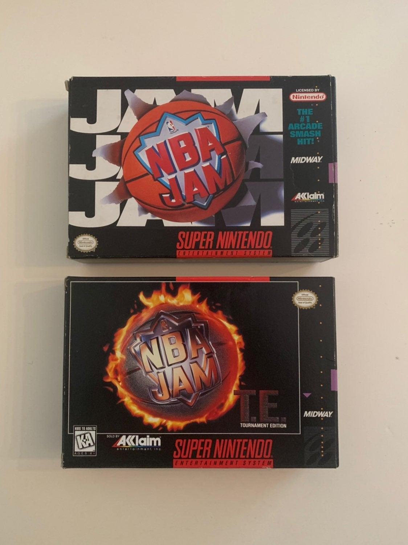 NBA Jam Boxes - Super Nintendo