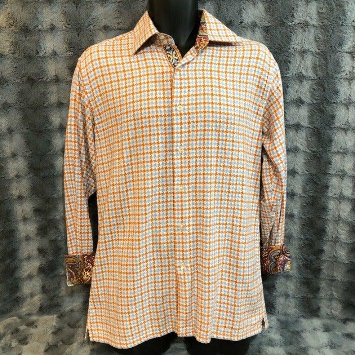 Inserch Icon Mens Shirt Medium Button Up