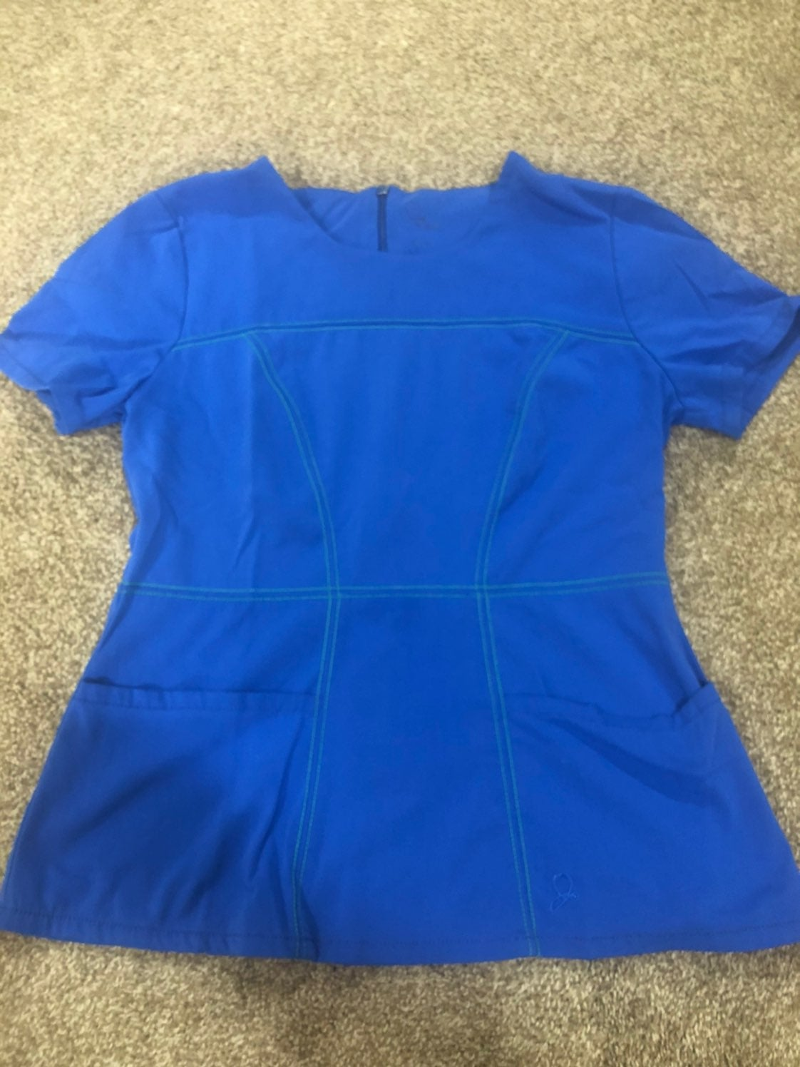 Jaanuu - Women's Royal Blue Scrub