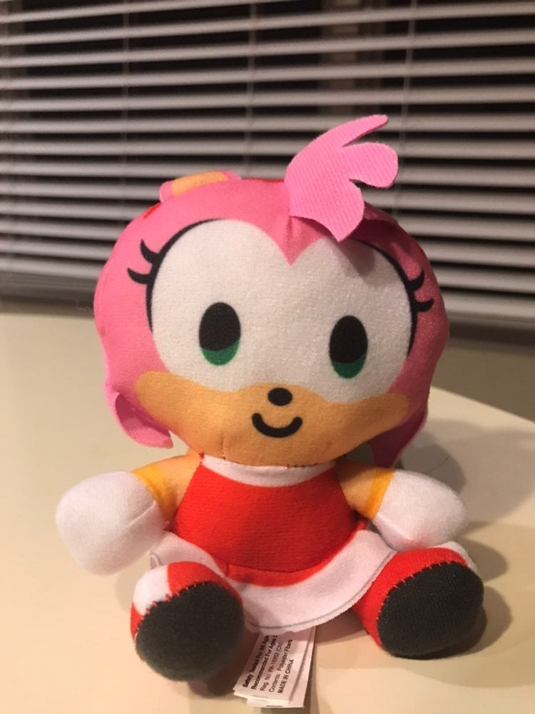 Sonic the Hedgehog Amy Rose Plush 5""