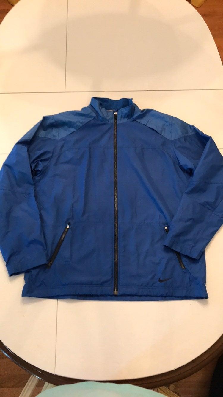 Nike Men's XL Blue Windbreaker Jacket