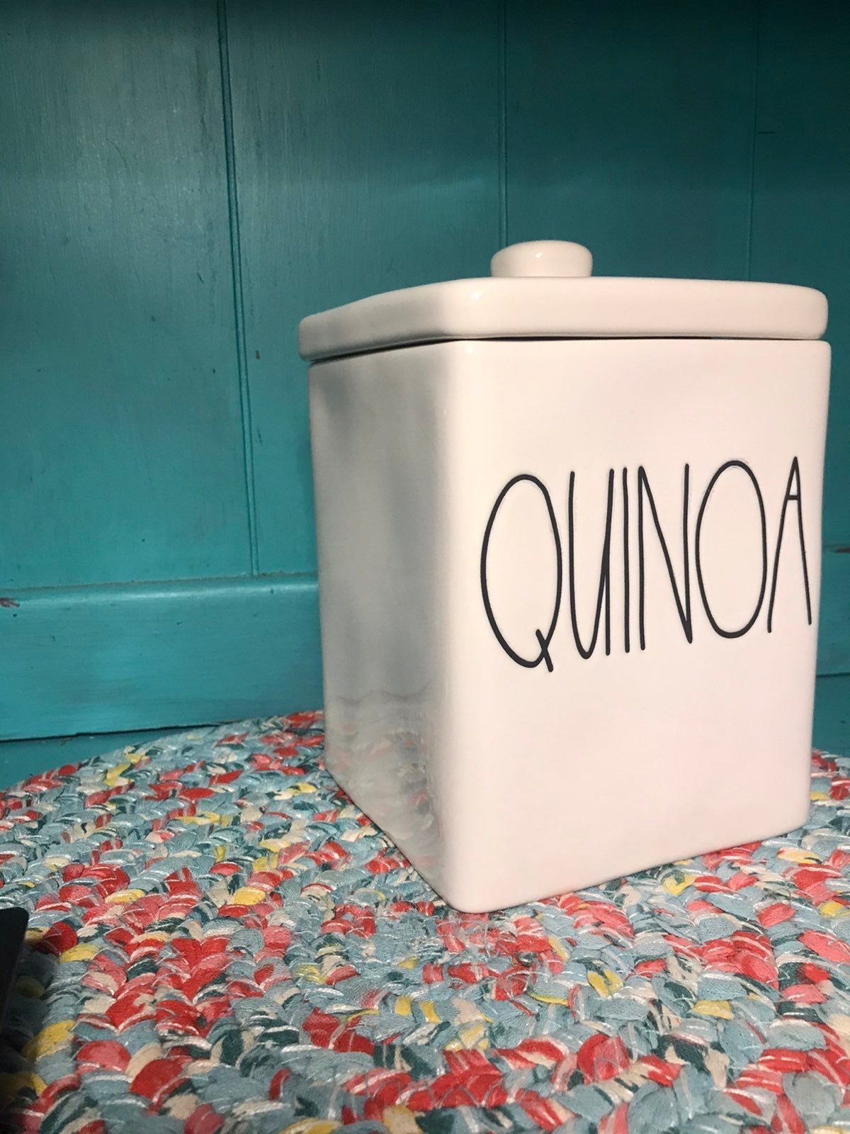 Rae Dunn Large Quinoa Canister