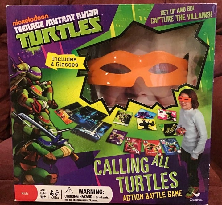 Calling All Turtles Action Battle Game O