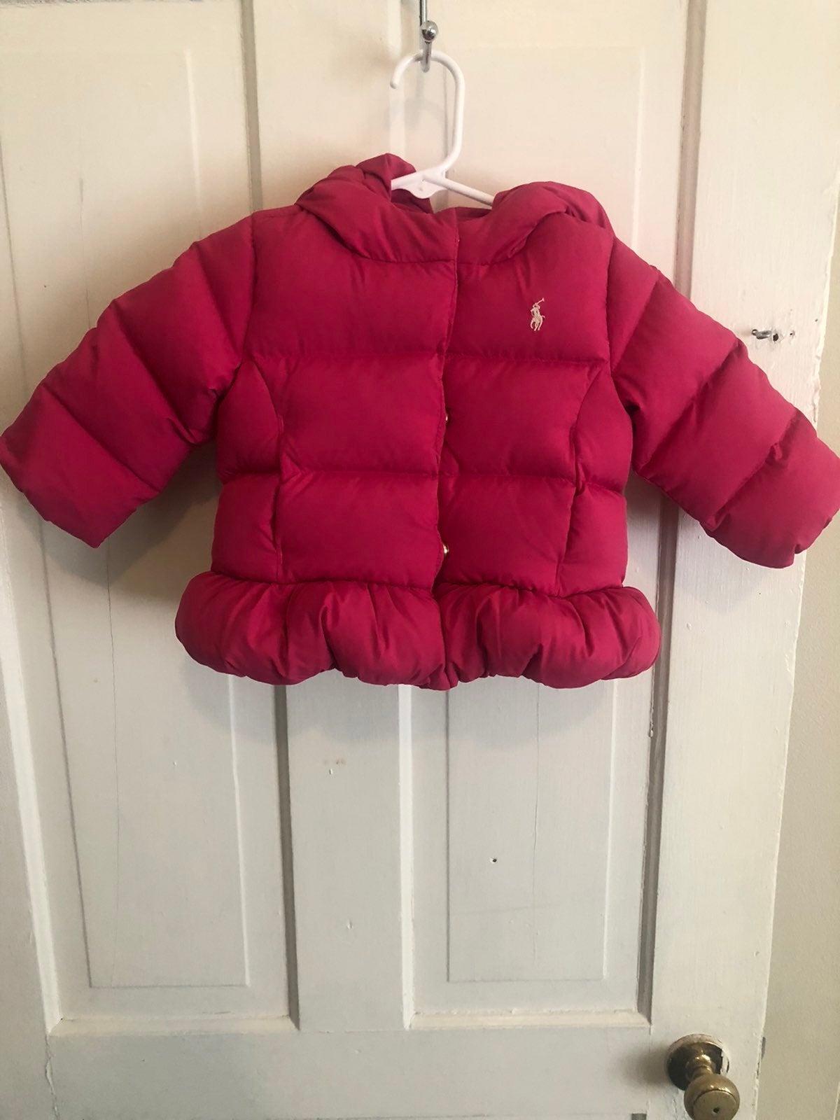 Polo Ralph Lauren Puffer Girls Jacket 9M