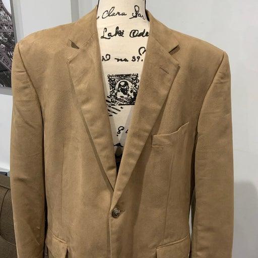 Large Camel Colored Men's Blazer