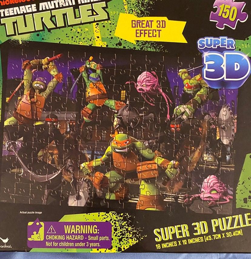 Teenager Mutant Ninja Turtles Puzzle