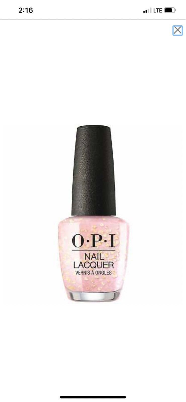 Brand new OPI Are you happy to C me? LOl
